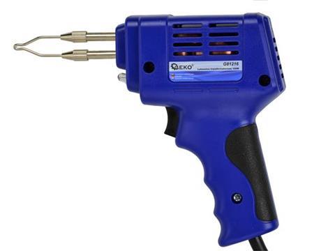 GEKO G81216 100W Spájkovačka spájka spájkovanie spájkovacia pištoľ sada