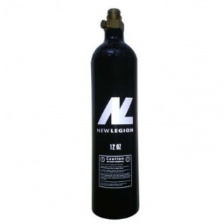 Paintball fľaša CO2 12oz 340g na pištoľ pin ventil